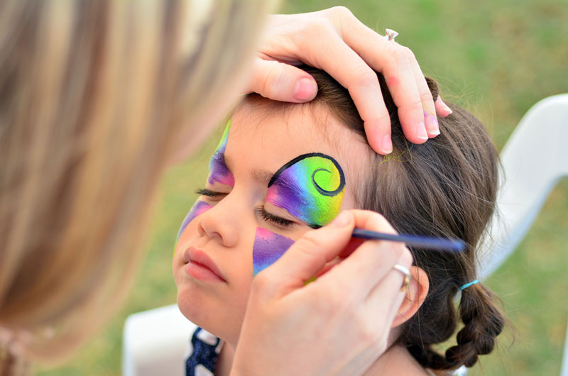 Ballon And Face Painting